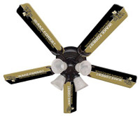 "New NCAA WAKE FOREST DEMON DEACONS 52"" Ceiling Fan"