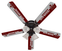 "New NCAA TEXAS A&M AGGIES 52"" Ceiling Fan"