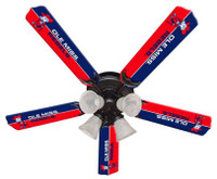 "New NCAA OLE MISS MISSISSIPPI REBELS 52"" Ceiling Fan"