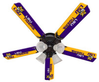 "New NCAA LSU TIGERS 52"" Ceiling Fan"