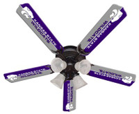 "New NCAA KANSAS STATE WILDCATS 52"" Ceiling Fan"