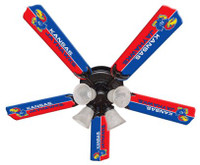 "New NCAA KANSAS JAYHAWKS 52"" Ceiling Fan"