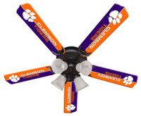 "New NCAA CLEMSON  TIGERS 52"" Ceiling Fan"