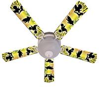 """New KIDS BAJA MX MOTOCROSS Ceiling Fan 52"""""""