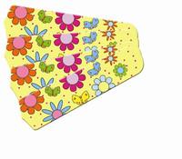 "New FLOWER POWER BUTTERFLIES YELLOW 42"" Ceiling Fan BLADES ONLY"