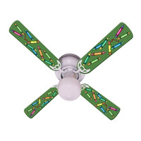 New KIDS COLORFUL CRAYONS Ceiling Fan 42""