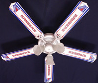 New NHL NEW YORK RANGERS HOCKEY Ceiling Fan 52""