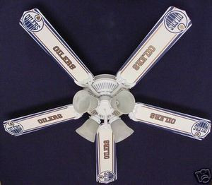 New nhl edmonton oilers hockey ceiling fan 52 ceiling fan designers image 1 image 2 aloadofball Image collections