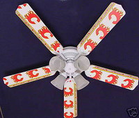 New NHL CALGARY FLAMES HOCKEY Ceiling Fan 52""