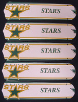 "New NHL DALLAS STARS 52"" Ceiling Fan BLADES ONLY"