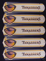 "New ATLANTA THRASHERS 52"" Ceiling Fan BLADES ONLY"
