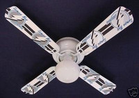New NHL TAMPA BAY LIGHTNING HOCKEY Ceiling Fan 42""