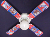 New NHL NEW YORK RANGERS HOCKEY Ceiling Fan 42""