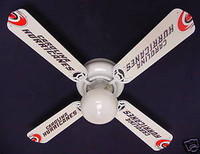 New NHL CAROLINA HURRICANES HOCKEY Ceiling Fan 42""
