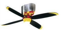 CRAFTMADE WARBIRD AIRPLANE GLAMOROUS GLEN Ceiling Fan