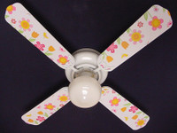 New KIDSLINE KIDS LINE LULLABY BIRDS  Ceiling Fan 42""