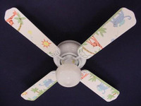 New KIDSLINE KIDS LINE PARADISO ANIMALS Ceiling Fan 42""