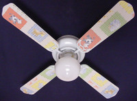 New KIDSLINE KIDS LINE BARN YARD  Ceiling Fan 42""