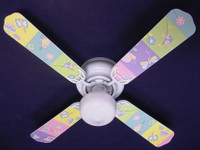 New KIDSLINE KIDS LINE GOSSAMER WINGS  Ceiling Fan 42""