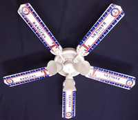 New MLB TEXAS RANGERS BASEBALL Ceiling Fan 52""