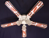 New MLB SAN FRANCISCO GIANTS BASEBALL Ceiling Fan 52""