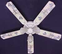 New MLB SAN DIEGO PADRES BASEBALL Ceiling Fan 52""