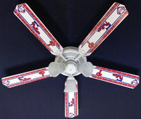 New MLB PHILADELPHIA PHILLIES BASEBALL Ceiling Fan 52""