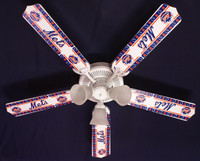 New MLB NEW YORK METS BASEBALL Ceiling Fan 52""