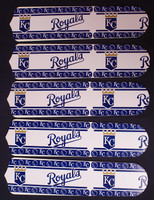 "New MLB KANSAS CITY ROYALS 52"" Ceiling Fan BLADES ONLY"