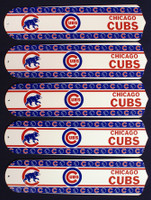 "New MLB CHICAGO CUBS 52"" Ceiling Fan BLADES ONLY"