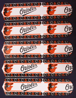 "New MLB BALTIMORE ORIOLES 52"" Ceiling Fan BLADES ONLY"