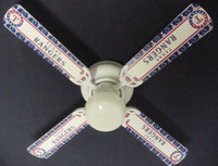 New MLB TEXAS RANGERS BASEBALL Ceiling Fan 42""