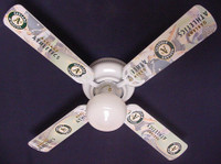 New MLB OAKLAND ATHLETICS A's BASEBALL Ceiling Fan 42""