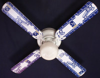 New MLB KANSAS CITY ROYALS BASEBALL Ceiling Fan 42""