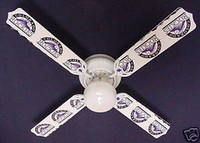 New MLB COLORADO ROCKIES BASEBALL Ceiling Fan 42""