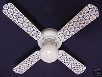 New MLB BASEBALL TEAMS Ceiling Fan 42""