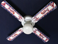 New MLB ATLANTA BRAVES BASEBALL Ceiling Fan 42""