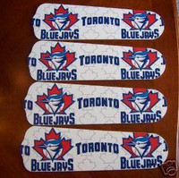 "New MLB TORONTO BLUE JAYS 42"" Ceiling Fan BLADES ONLY"