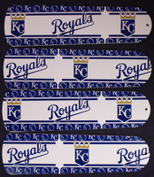 "New MLB KANSAS CITY ROYALS 42"" Ceiling Fan BLADES ONLY"