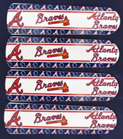 "New MLB ATLANTA BRAVES 42"" Ceiling Fan BLADES ONLY"