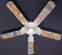 New CLASSIC SPORTS Ceiling Fan 52""
