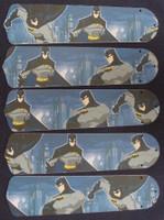 "New BATMAN SUPERHERO 52"" Ceiling Fan BLADES ONLY"