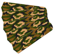 "New CAMOFLAUGE CAMO GREEN 52"" Ceiling Fan BLADES ONLY"