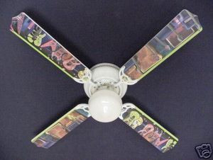 New rock n roll electric guitar ceiling fan 42 ceiling fan designers image 1 mozeypictures Choice Image