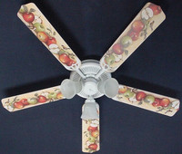 New APPLES APPLE & BIRDS Ceiling Fan 52""