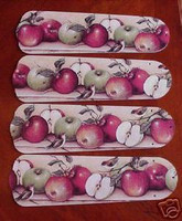"New APPLES APPLE & BIRDS 42"" Ceiling Fan BLADES ONLY"