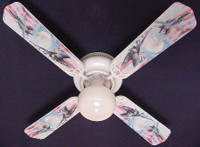 New AIR FORCE FIGHTER JETS EAGLE FLAG Ceiling Fan 42""