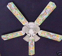 "New WINNIE POOH PIGLET EEYORE TIGGER  Ceiling Fan 52"""