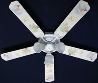 New Disney BAMBI THUMPER KIDS BABY Ceiling Fan 52""