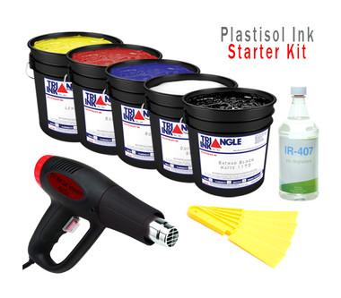 Plastisol Ink Starter Kit